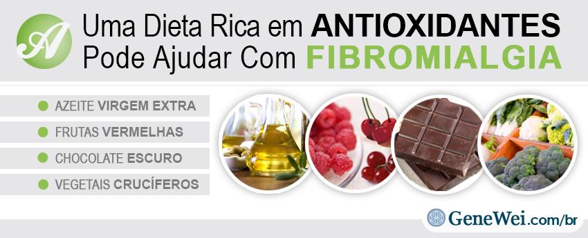 Uma Dieta Rica em Antioxidantes Pode Ajudar Com Fibromialgia