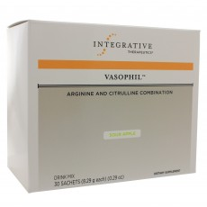 Vasophil Arginine and Citrulline Combination - Sour Apple Flavor (30 Sachets)