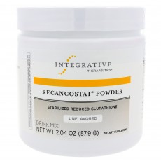 Recancostat Powder, Stabilized Reduced Glutathione, unflavored mix (57.9 g)