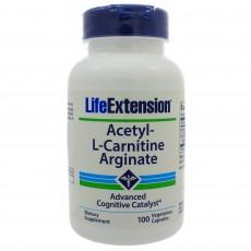 Acetyl-L-Carnitine Arginate (100 caps)